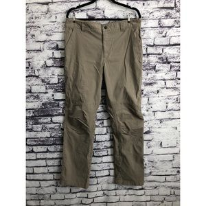 Columbia Mens Beige Outdoor Stretch Hiking Pants